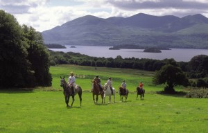 horse-riding in ireland - summer activity in cork