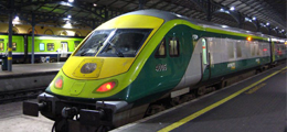 Getting to Cork and Experience Ireland by train